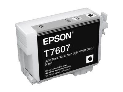 Epson T7607 Light Black Ink Cartridge SureColor SC-P600 Printers