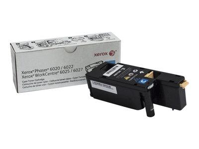 Xerox Cyan Toner Cartridge (Yield 1,000 Pages)