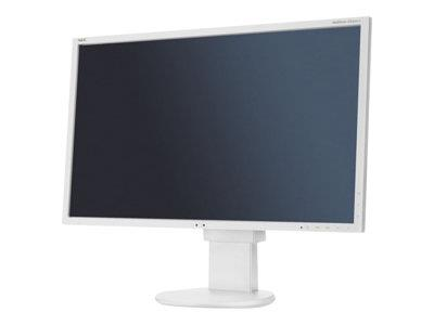 "NEC MultiSync EA223WM 22"" 1680x1050 5ms VGA DVI DisplayPort LED Monitor - White"