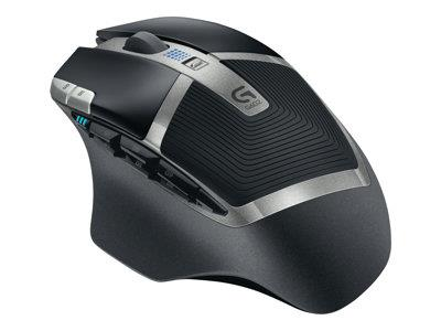 Logitech G602 Wireless Gaming Mouse - Brown Box