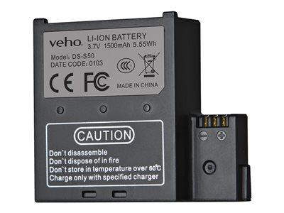 Veho VCC-A034-SB 1500mah spare battery for Muvi K-Series only