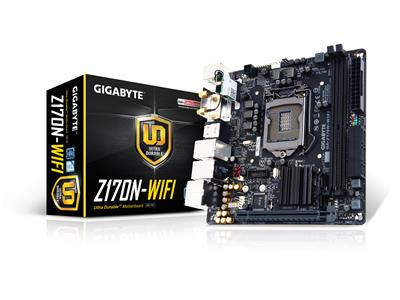 Gigabyte Z170N-WIFI Intel Z170 LGA1151 ITX DDR4 USB3.0 Wireless122AT