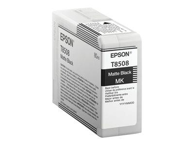 Epson T8508 Matte Black Ink Cartridge
