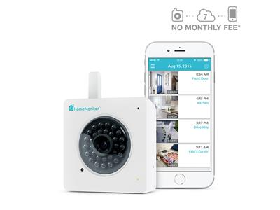 Y-cam HomeMonitor HD Wireless Indoor Security Camera with Free Online Recording