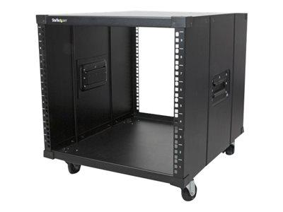 StarTech.com Portable Server Rack - 9U