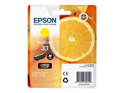 Epson XP530/630/635/830 Yellow Ink Cartridge