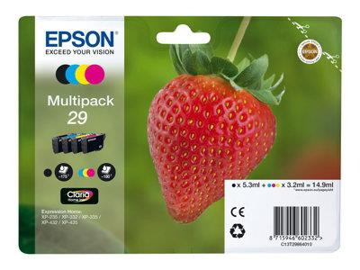 Epson XP235/332/335/432/435 Multipack Ink Cartridge