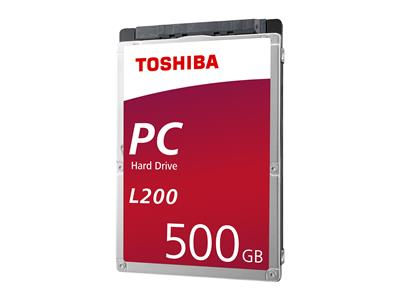 "Toshiba L200 500GB 2.5"" 5400rpm 8MB Internal HDD"