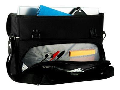 "Targus CityGear 15-17.3"" Laptop Messenger - Black"