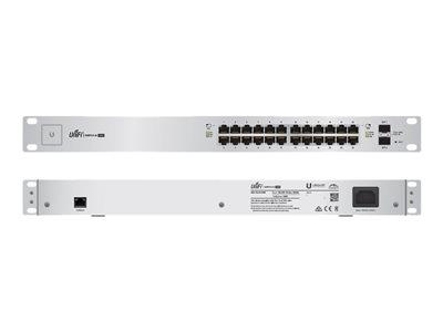 Ubiquiti UniFi Switch US-24-250W Switch - 24 ports - Managed - Rack-Mountable