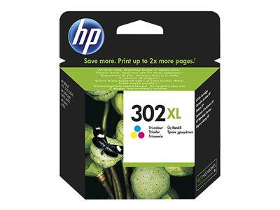 HP 302XL Tri-Colour Ink Cartridge