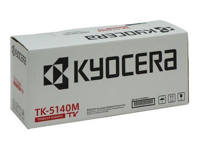 Kyocera Toner Kit TK-5140M Magenta 5000 Pages