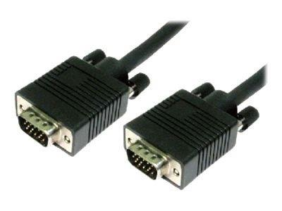 Cables Direct VGA Cable HD-15 (M) to HD-15 (M) 20m Moulded - Black