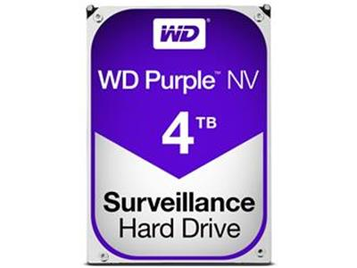 WD Purple NV 4TB Surveillance AV Hard Disk Drive Intellipower SATA 6 Gb/s 64MB Cache 3.5 Inch