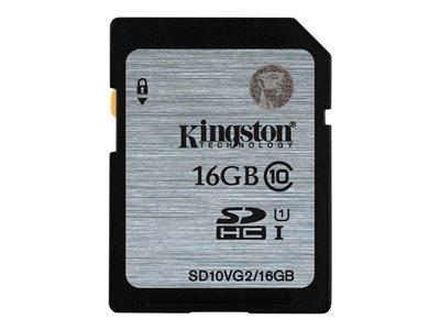 Kingston 16GB SDHC UHS-I Class10 Flash Memory Card