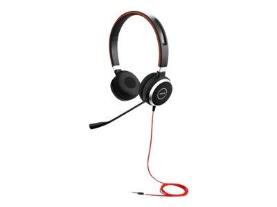 Jabra Evolve 40 Duo UC with 3.5mm Jack Only