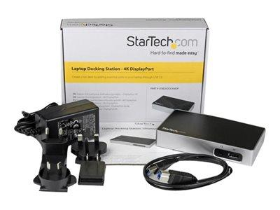 StarTech.com 4K DP Laptop Docking Station
