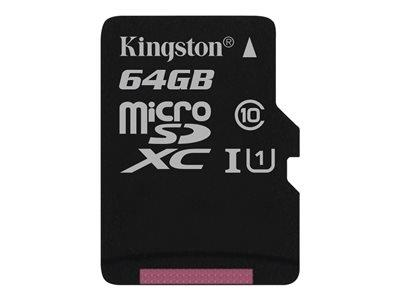 Kingston 64GB microSDXC Class 10 UHS-I