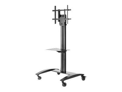 "Peerless-AV Trolley For 32"" - 75"" Flat Panel, Height adjustable w/ Shelf"