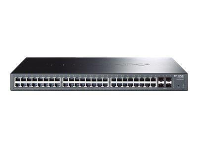 TP LINK JetStream 48-Port Gigabit Smart PoE Switch with 4 SFP Slots
