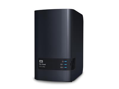 WD 8TB My Cloud EX2 Ultra (2x4TB WD Red) 2bay 1GB DDR3 NAS