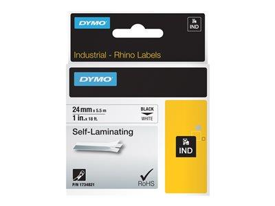 DYMO RhinoPRO Self Laminating Vinyl Labels 1 Roll