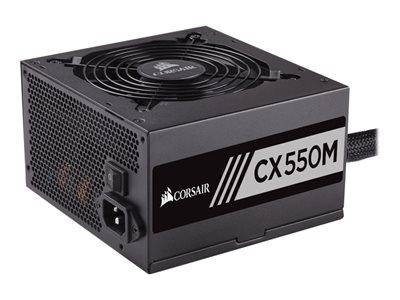 Corsair CX550M CX Series 550W Semi Modular 80 Plus Bronze ATX PSU