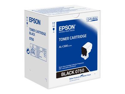 Epson Al C300 Black Toner Cart