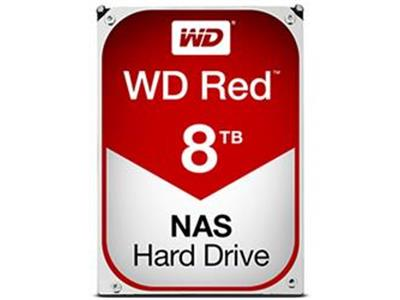 "WD Red 8TB NAS Desktop Hard Drive 3.5"" SATA 6Gb/s 128MB 5400rpm"