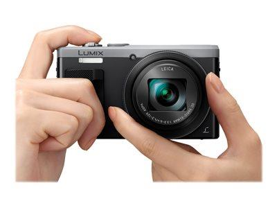 Panasonic DMC-TZ80 18.1MP 4K Full HD LCD Black Camera