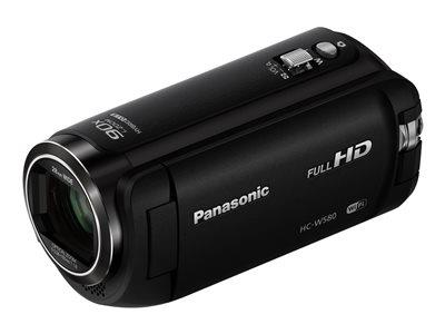 Panasonic Camcorder Black FHD 2.51MP 50xZoom 3.0LCD WiFi SD/SDHC/SDXC