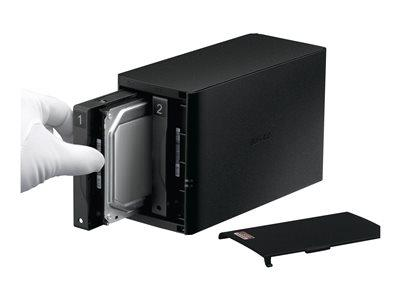 Buffalo LinkStation 520DE HS NAS 2Bays Diskless