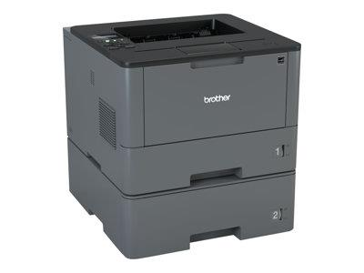 Brother HLL5100DNT Mono Laser Printer with Additional Lower Tray