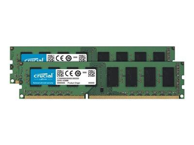 Crucial 16GB(8GBx2) DDR3L PC3 12800 1600MHz Crucial Dual Voltage Kit