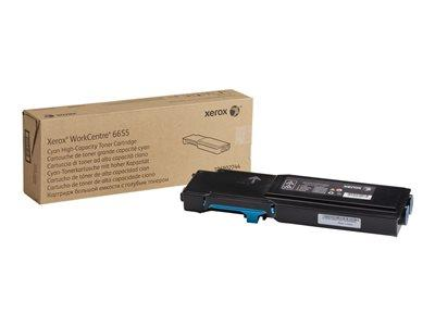 Xerox 106R02744 High Capacity Cyan Toner Cartridge