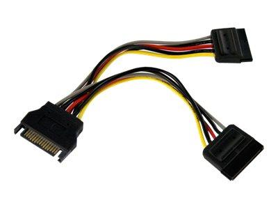 "StarTech.com 6"" SATA Power Y Splitter Cable"