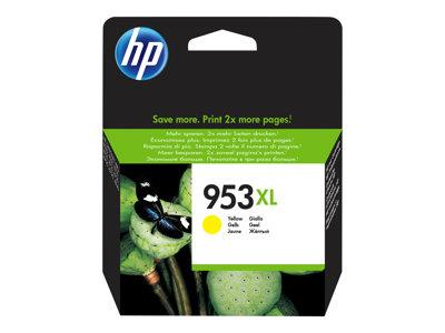 HP 953XL High Yield Yellow Original Ink cartridge for Officejet