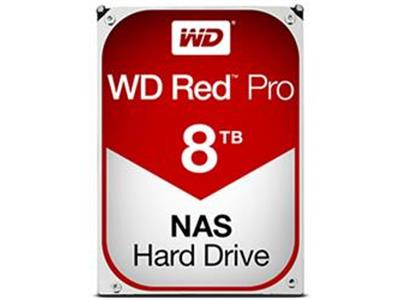 "WD 8TB Red Pro 3.5"" SATA 6Gb/s 7200rpm 128MB NAS Hard Drive"