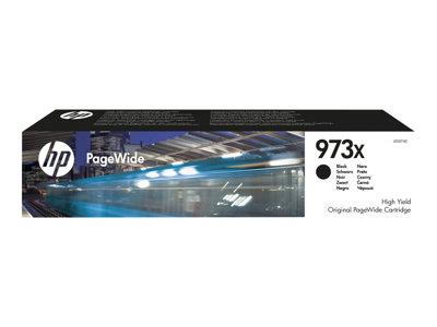 HP 973X High Yield Black Original PageWide Cartridge