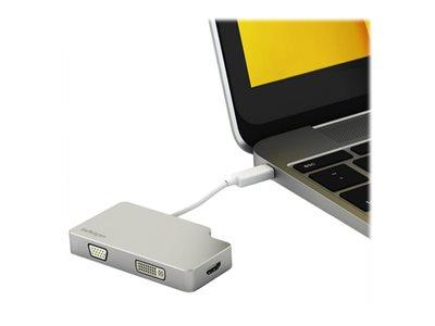 StarTech.com mini DisplayPort to VGA DVI or HDMI Adapter