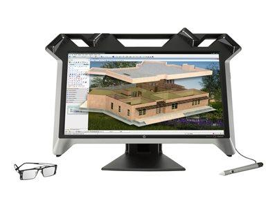 "HP ZVR Virtual Reality Display 3D LED 23.6"" Monitor"