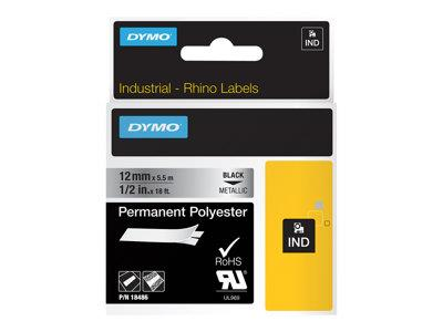 DYMO Metallized Permanent Polyester Tape 1 Roll