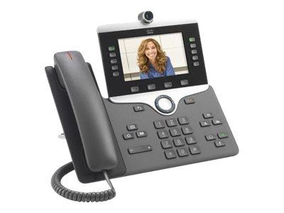 Cisco IP Phone 8845 IP Video Phone, Digital Camera, Bluetooth Inte