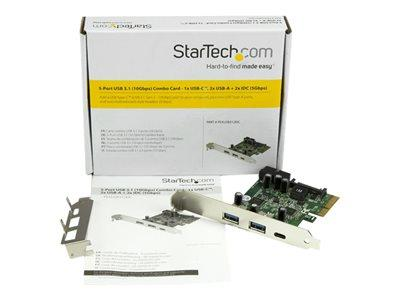 StarTech.com 5 Port USB 3.1 (10Gbps) Card