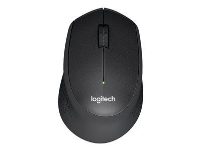 Logitech M330 Silent Plus Wireless Mouse - Black