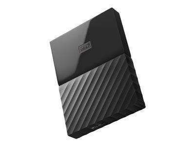 "WD 4TB My Passport 2.5"" USB 3.0 Portable Hard Drive - Black"