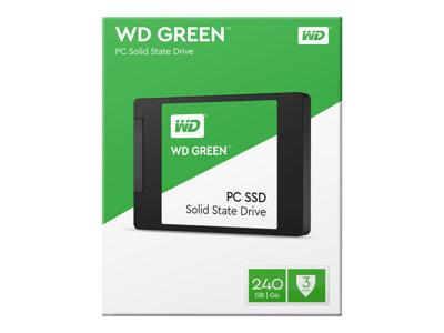 "WD 240GB Green 2.5"" 7mm SATA 6Gb/s SSD"
