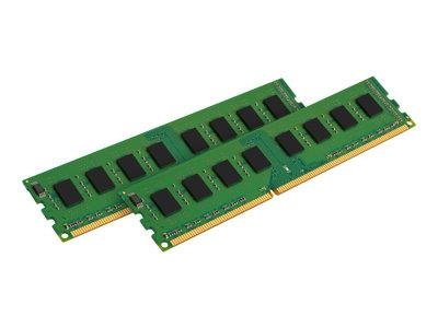 Kingston ValueRAM Kingston 8GB 1333MHz DDR3 Non-ECC CL9 DIMM SR x8 (Kit of 2)