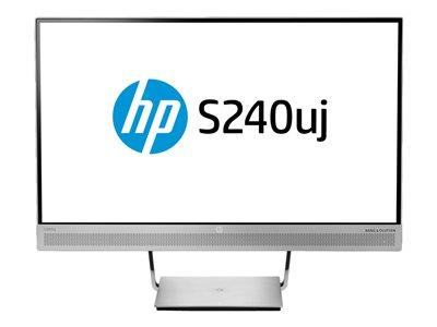 "HP EliteDisplay S240uj 2560 x 1440 23.8"" 5ms HDMI DP USB IPS Monitor"