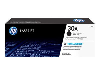 HP 30A - black - original - LaserJet - toner cartridge ( CF230A )